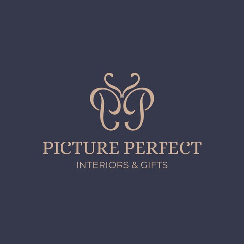 Logo concept for a store that sells home decor, furniture and gifts