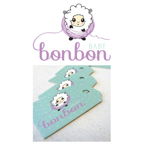 Logo for handmade baby clothes and accesories
