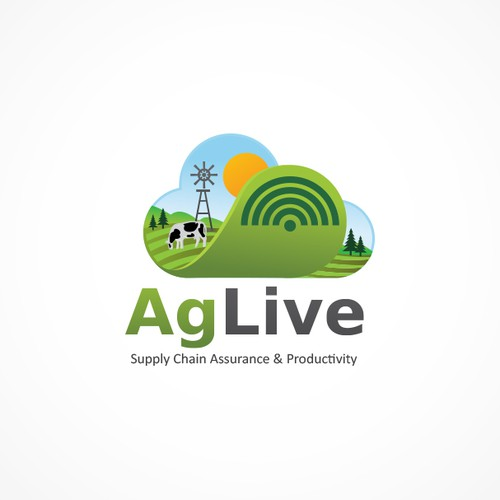 Brand identity for agri-tech startup: AgLive