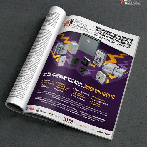 Bruce Electronic Magazine Ad.