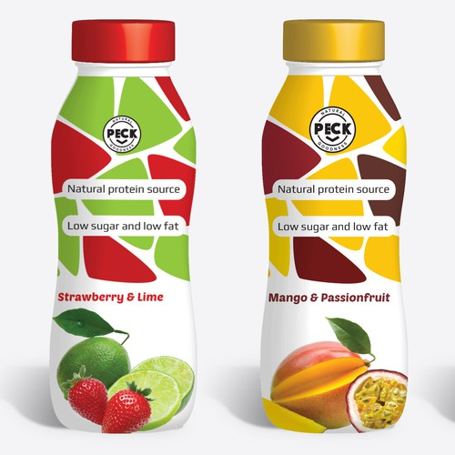 Packagin fruit beverage