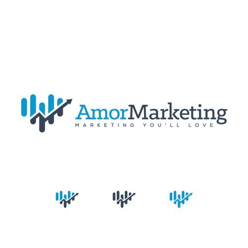 Amor Marketing logo
