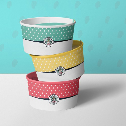 Ice Cream Cups, Product Design
