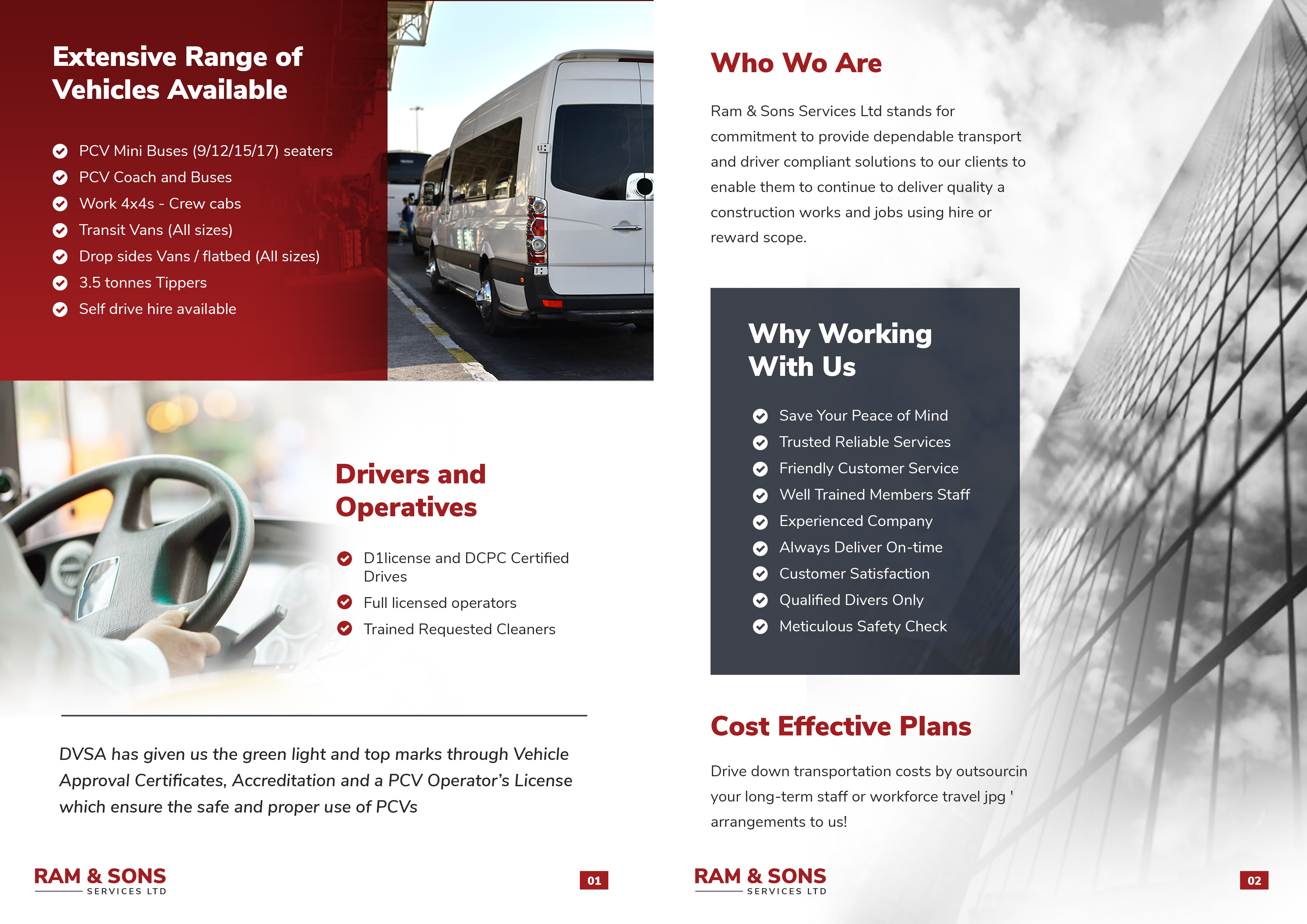 brochure for a leading company. professional. Information provided!!!
