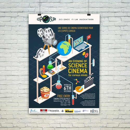 Poster Science Cinema