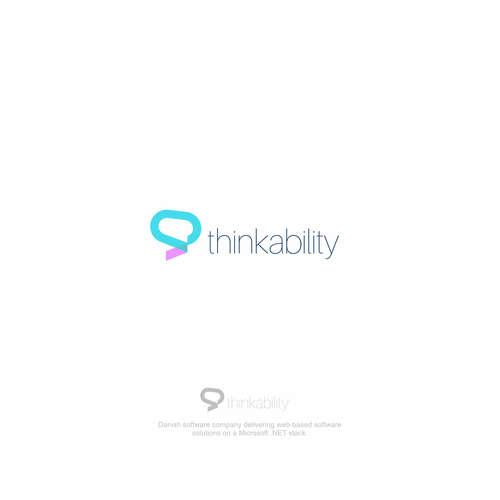 Simple logo for Thinkability