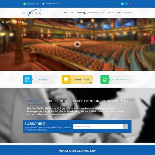 Flat Modern UI Web Design