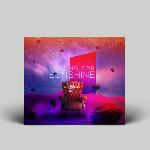 Waiting for sunshine Cd cover design