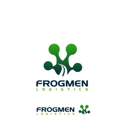 Help Frogmen Logistics with a new logo