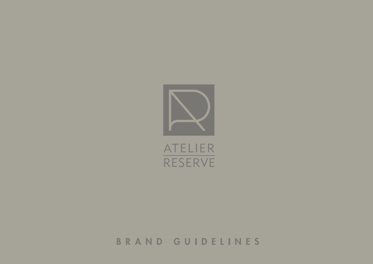 Logo and brand identity for Atelier Reserve