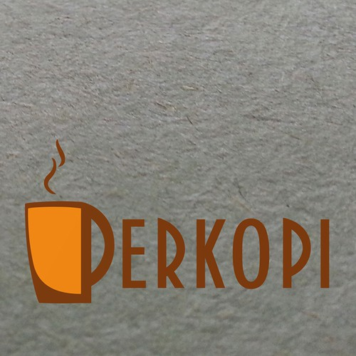 Drink some awesome coffee, then design the logo for Perkopi