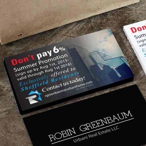 Summer Promotion  Postcard