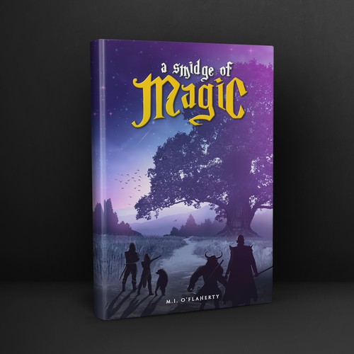 Book cover for A SMIDGE OF MAGIC