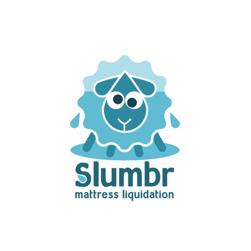 Logo design for Slumbr mattress liquidation