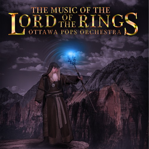 Poster for The Music of the Lord of the Ring