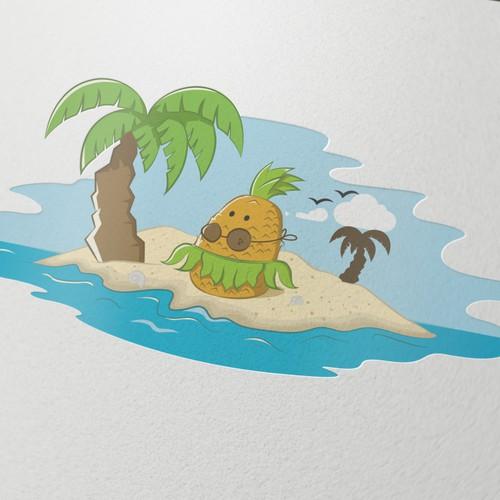 Hula Dancing Pineapple!