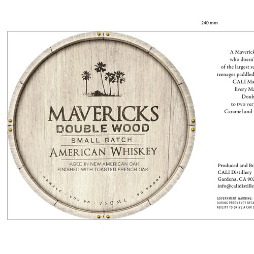 Whiskey Label Contest