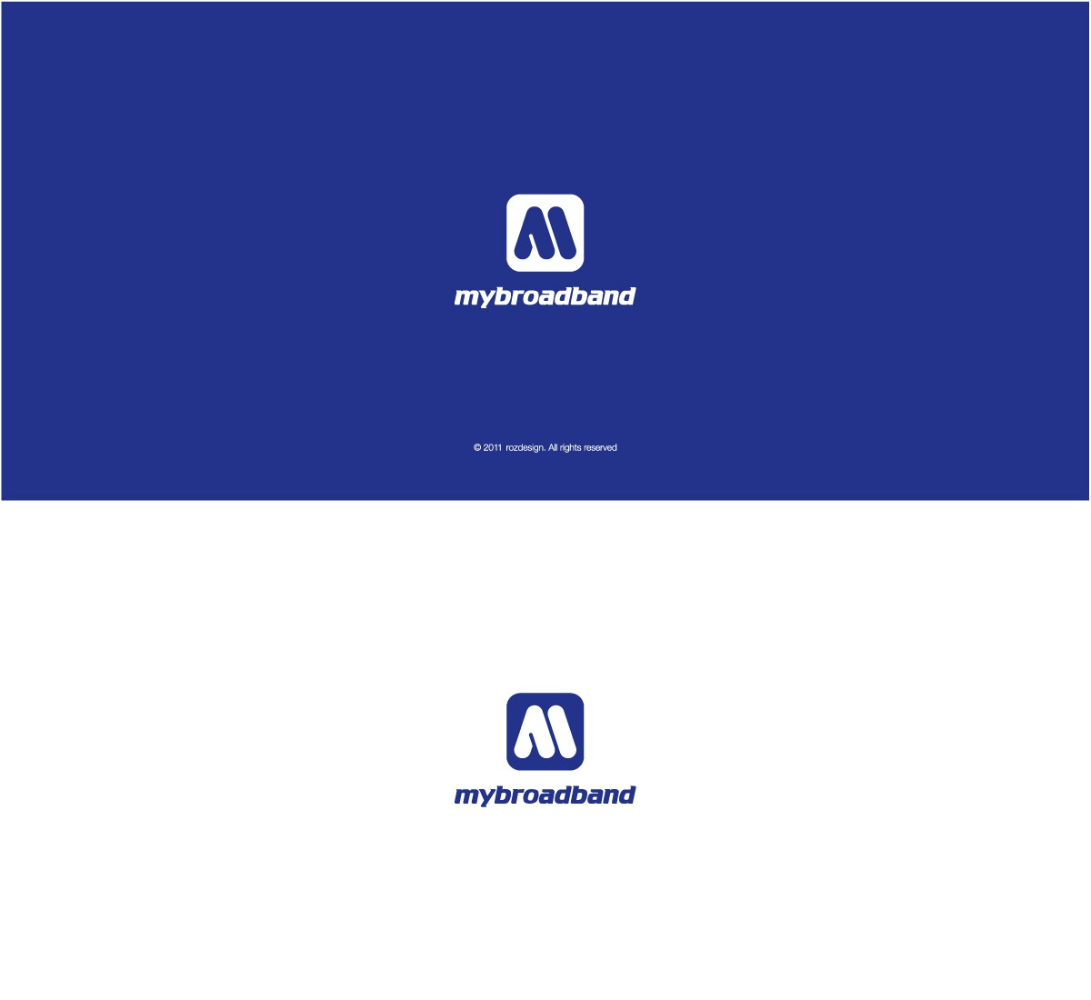 logo for MyBroadband