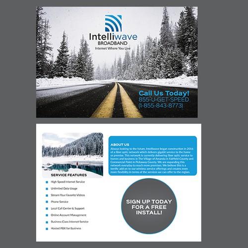 internet service provider postcard