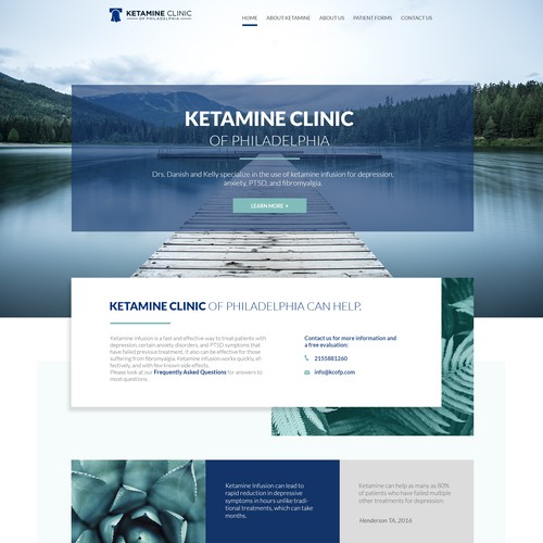 Ketamine Clinic Web design