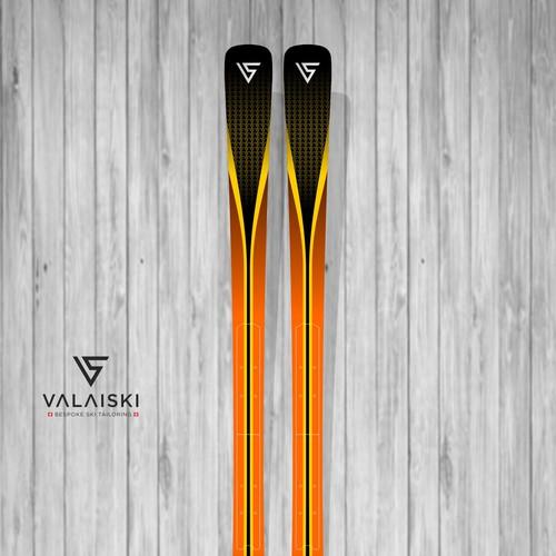 Ski Board for Swiss Ski Brand VALAISKI