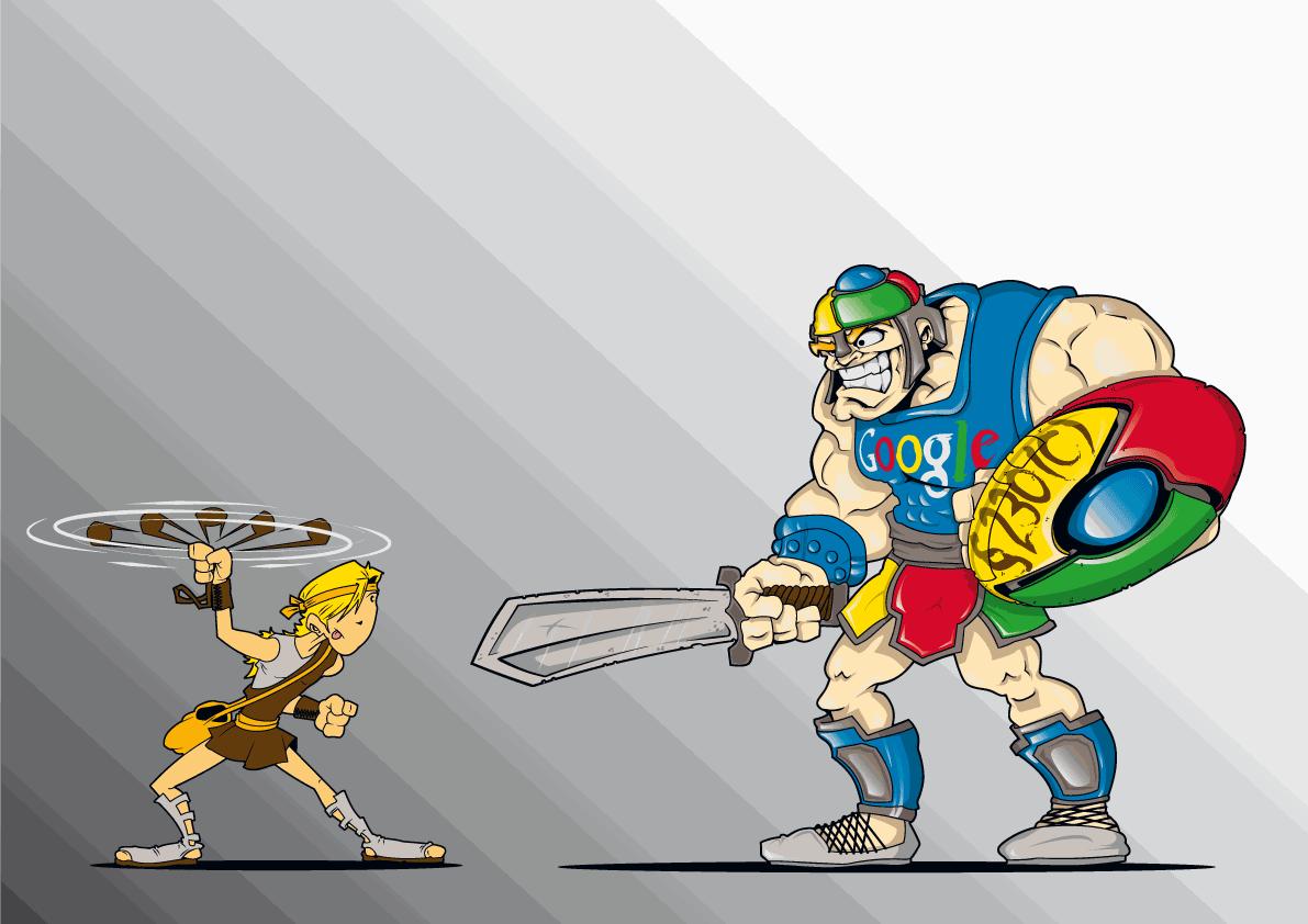 Create the next illustration for Googliath