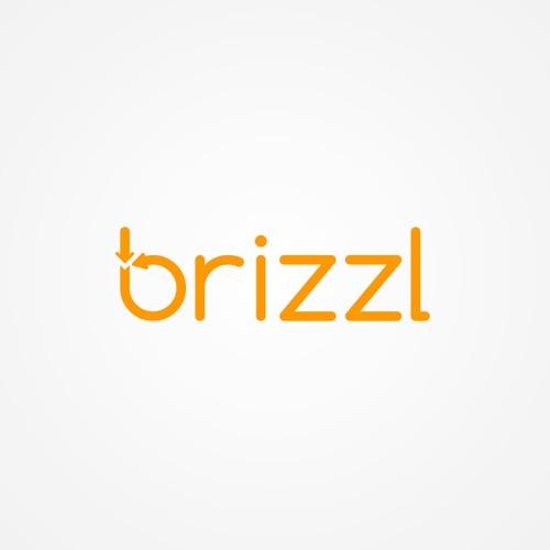 Logo design for the fun and friendly app 'brizzl'