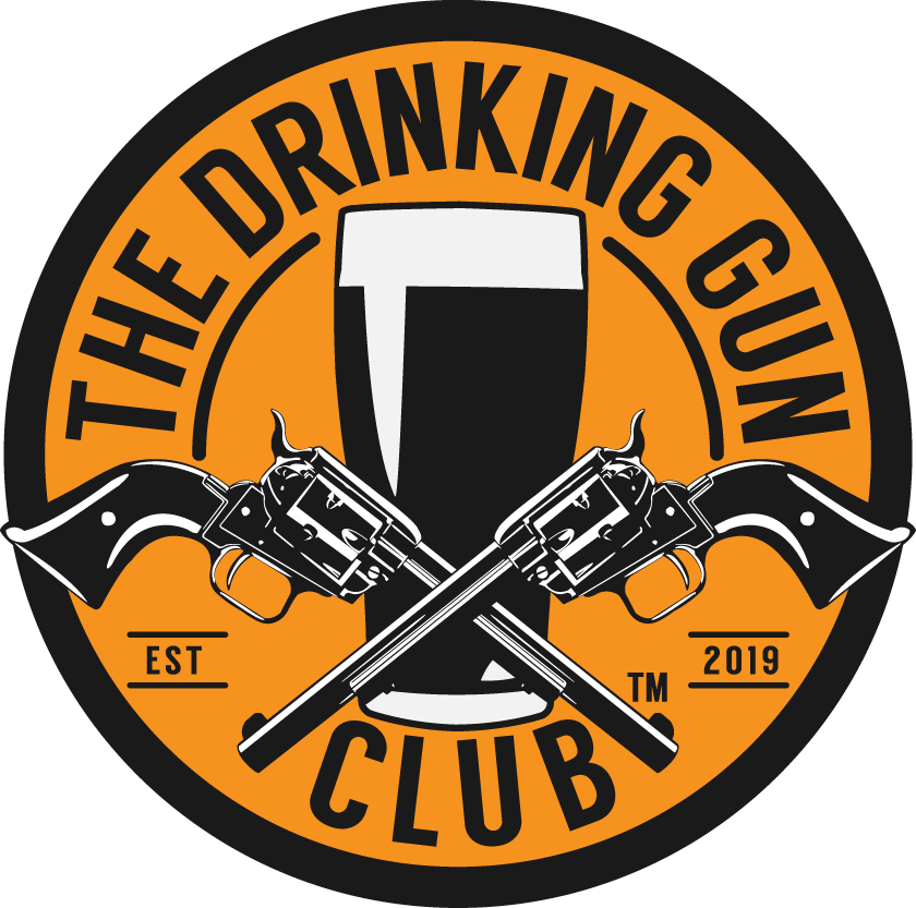 THE DRINKING GUN CLUB LOGO
