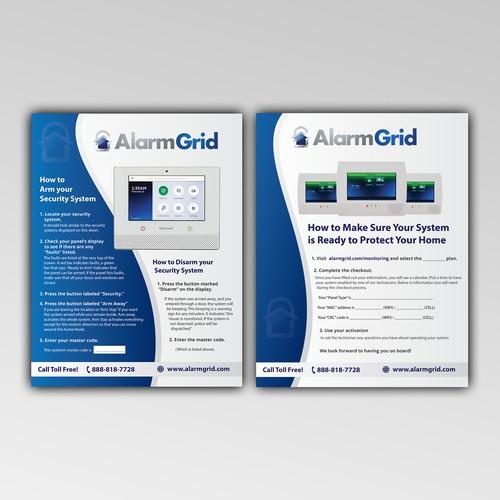 Alarm Grid Flyer