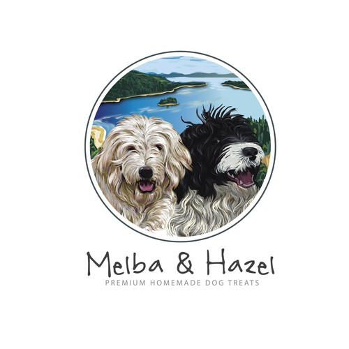 c logo concept for Melba & Hazel