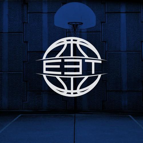 Bold logo for a basketball tournament