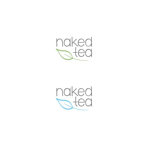 Naked Tea – logo for an organic tea product