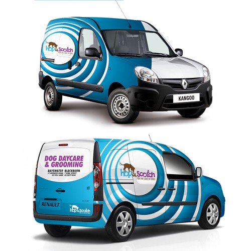 Van Wrap for Dog Daycare