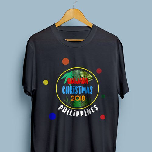 Logo for a family's Christmas holidays in Philippines 🇵🇭