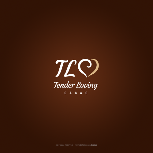 Logo for a chocolate brand