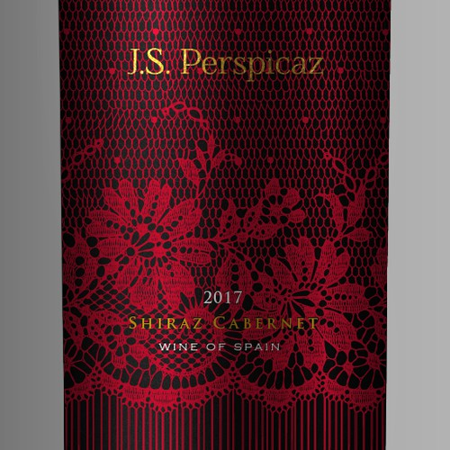 Help J.S. Perspicaz Wine of spain, create our very first wine label!