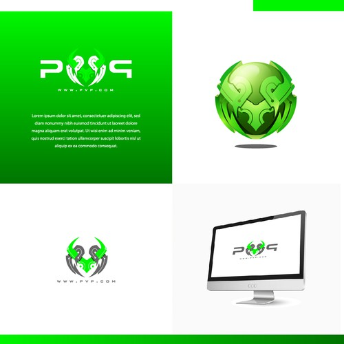 PVP Gaming Logo