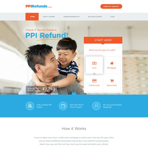 Claim Management Company : Landing Page