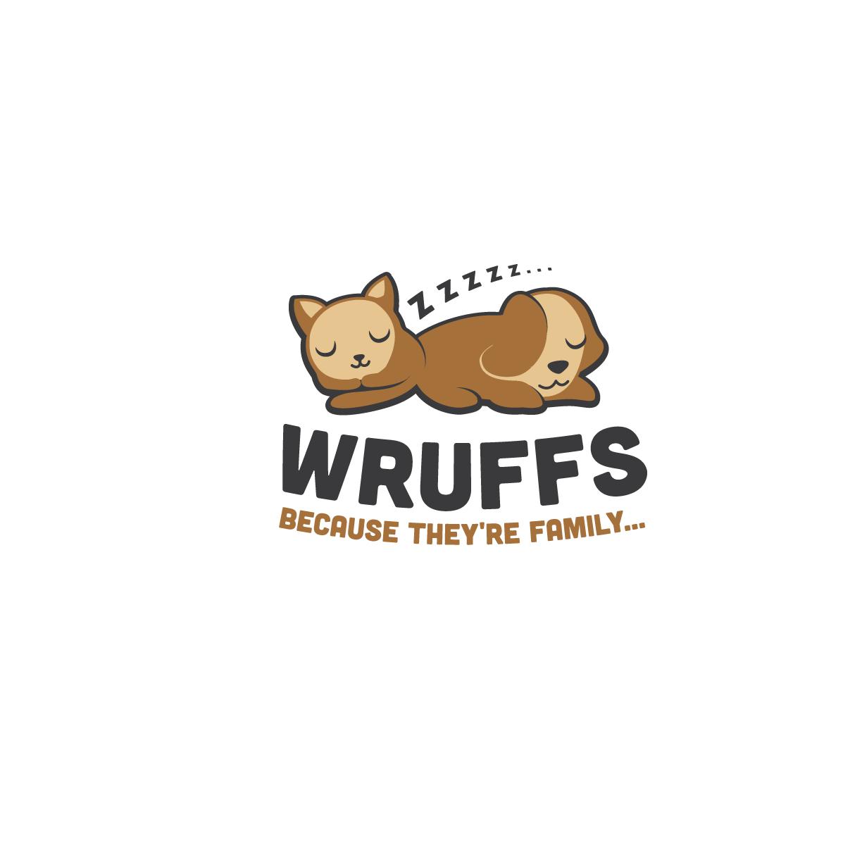 "Logo & Website for brand ""Wruffs"" -  pet bedding: unique, cute & luxury bedding"