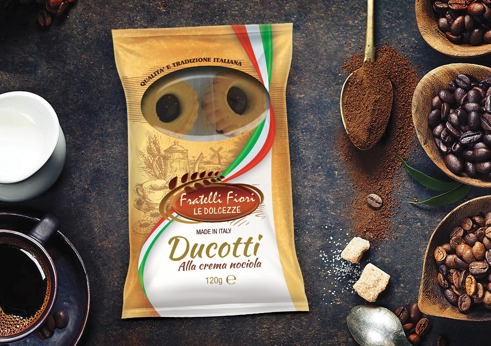 Design package Italian cookies