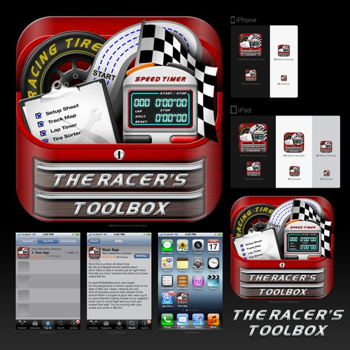 Create the next icon design for C-Squared Racing Technology LLC