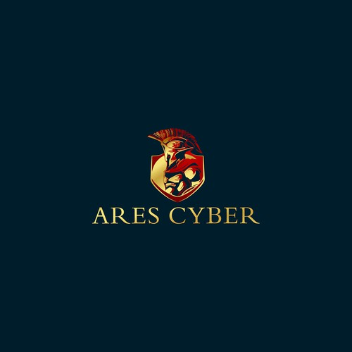 Greece classic sophisticate logo for ARES CYBER