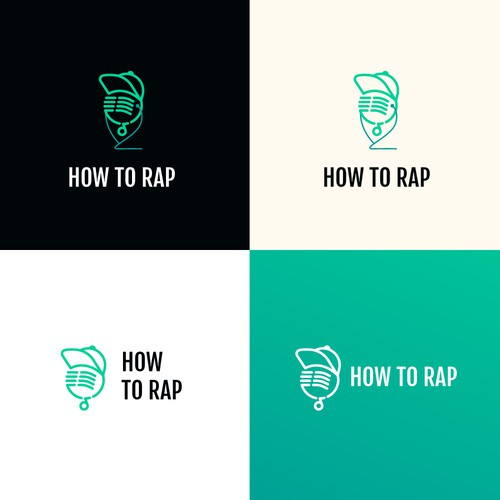 Design a modern Hip-Hop logo for a YouTube channel
