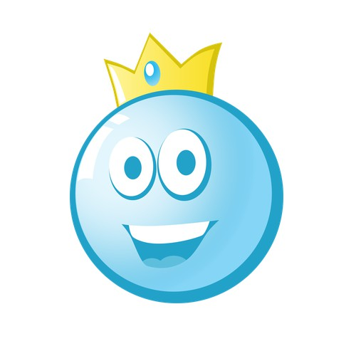Button King Mascot