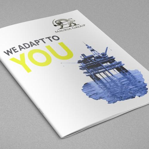 Brochure design for a business