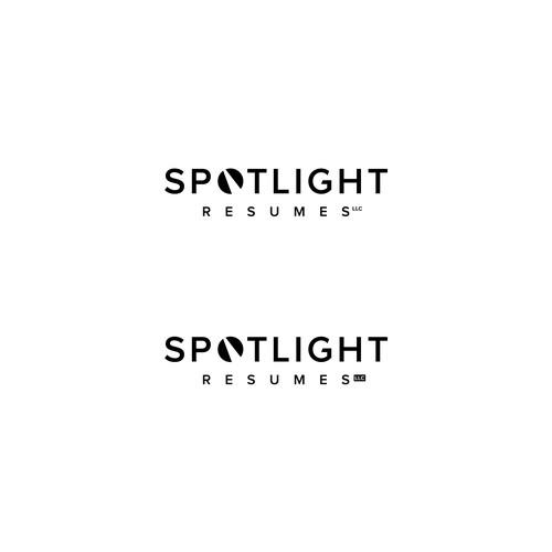 Logo design for Spotlight Resumes