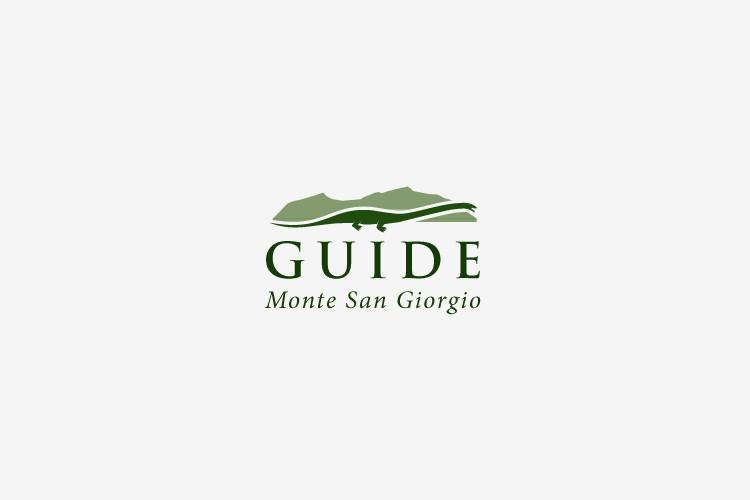 Crea un logo per le guide ufficiali del sito UNESCO Monte San Giorgio