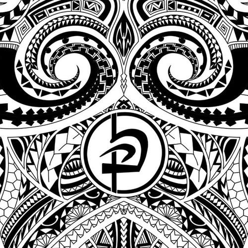 Polenysian tattoo design