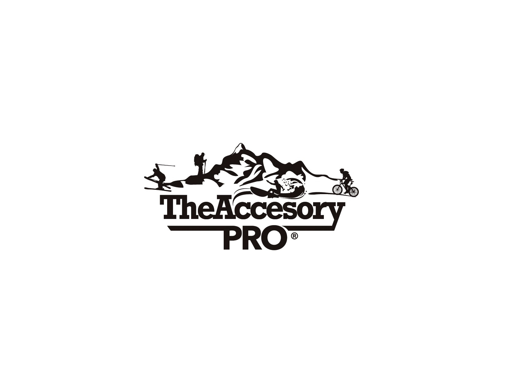 Create an action sports logo for GoPro accessory company
