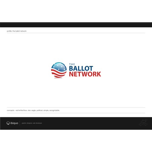 The Ballot Network - Logo design